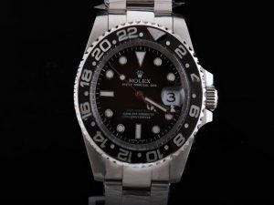 Rolex-GMT-Master-Black-Ceramic-Bezel-And-Black-Dial-Small-Calend-13